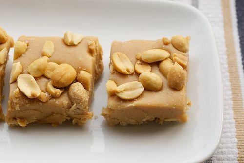 Salted Nut Squares!  5 ingredients...no baking!  Taste like PayDay bars.