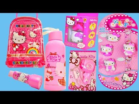 Have You Ever Seen This New Gift Set And Stationery Set Of Hello Kitty Please Click Here To Watch The Comp Hello Kitty Gifts Stationery Set Hello Kitty