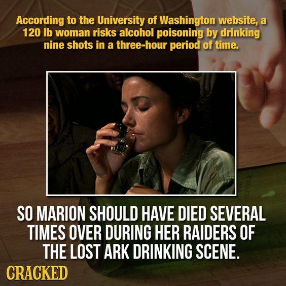 12 shots of alcohol? No problem!