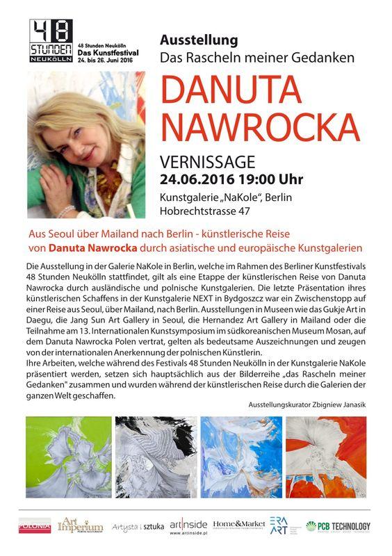 Danuta Nawrocka - Festiwal Sztuki w Berlinie - Galeria NaKole