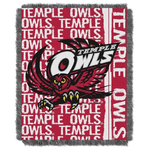 Bulk Throw Blankets Best Temple University Owls Bed Throw Blanket Bedding 48 X 60  Products Review