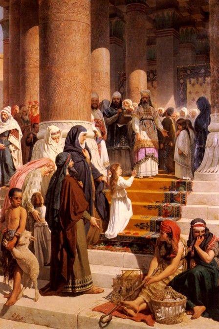 La presentación de la Santísima Virgen María | Caballeros de la Virgen