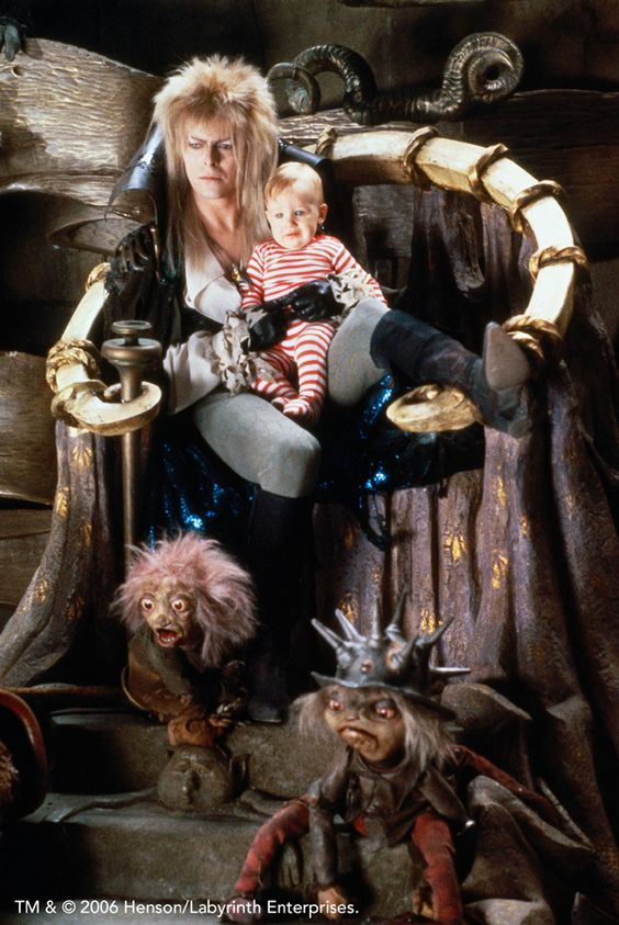 Jim Henson's 'The Labyrinth' was another childhood favourite and still is due to the brilliant use of props, sets, costumes and creatures.