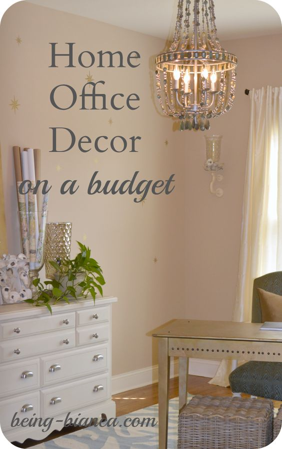 Brilliant Decor  Home Office Decorating Ideas On A Budget Front Door Exterior