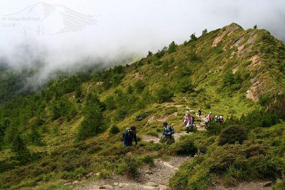 爬山,沒有什麼訣竅,就是奮力往前走、往上爬就對了