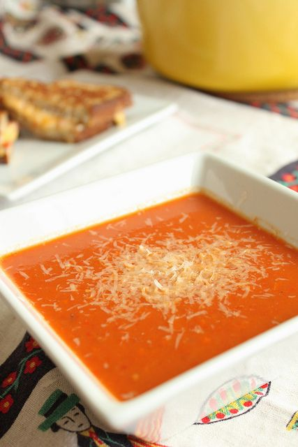 Roasted tomato soup by from Eat Your Heart Out @Eat Your Heart Out