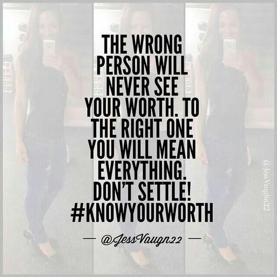 Right person.