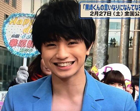 笑顔の中島健人