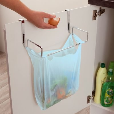 Le support de porte pour sac poubelle d coration cuisine pinterest cuisine and diy and crafts for Porte sac poubelle