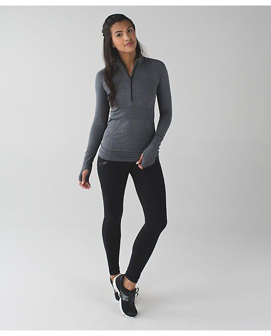 "Toasty Tech Tight II for cold weather running, sz 8, $118. ・designed for: run ・fabric(s): Tech Fleece ・fit: tight ・rise: high ・inseam: 28 1/2"" ・leg opening: 8"""