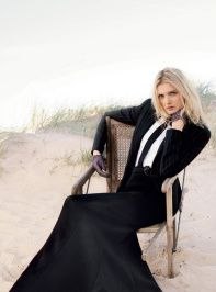 Lily Donaldson is 'Like the Wind' in BAZAAR UK