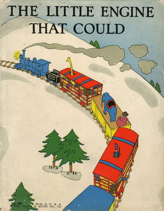 Watty Piper's 1930 The Little Engine That Could