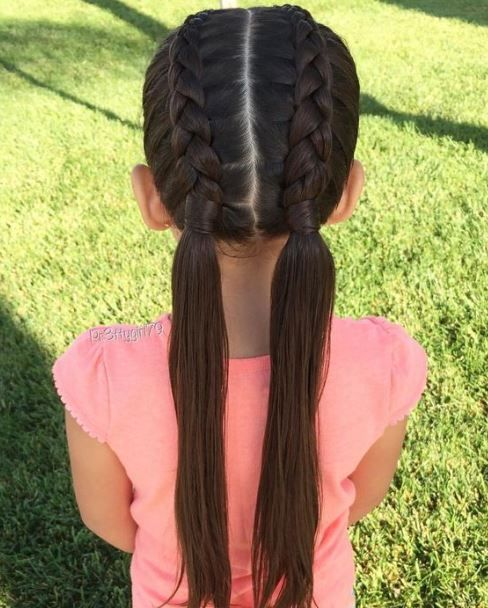 Pin On School Girls Hairstyle