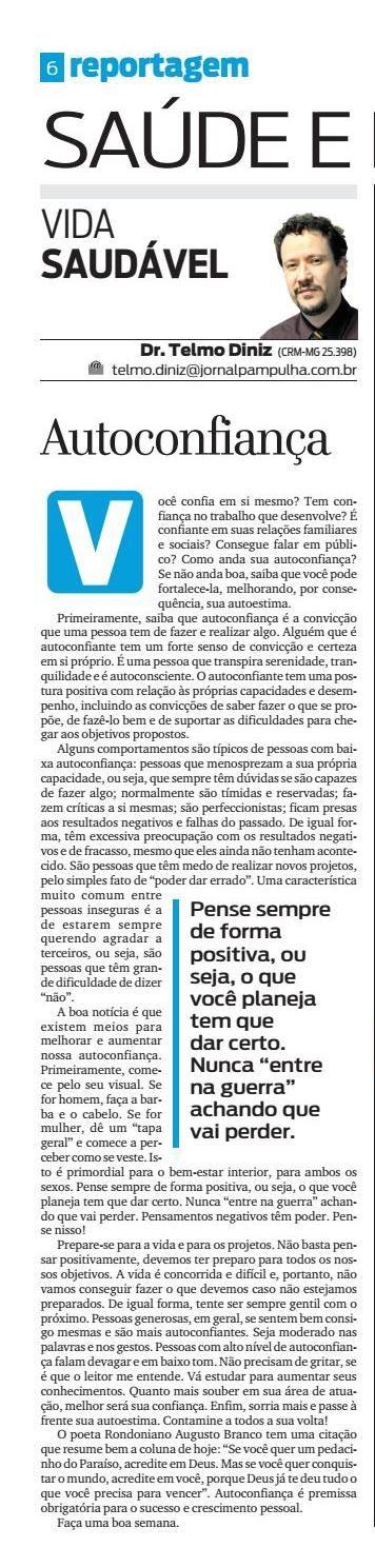 Pampulha - sábado, 27.8.2016 by Tecnologia Sempre Editora - issuu