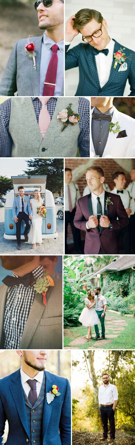 Des idées look pour le king | Look Mariage | Queen For A Day - Blog mariage