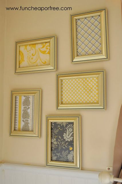 Wall Decor With Scrapbook Paper : Photo mats paper walls and wall art on