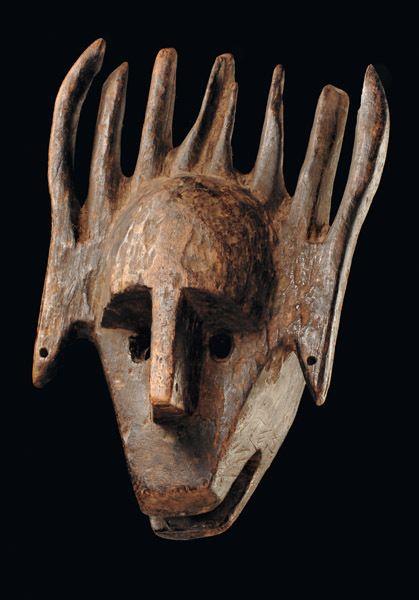 "Mali, Bamana | Mask ""ntomo"""