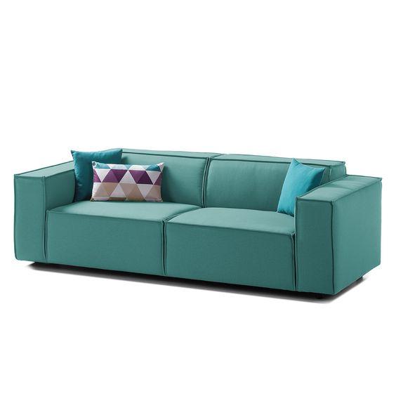 Sofa Kinx 2 5 Sitzer Webstoff Sofas 3 Sitzer Sofa Und Wohnzimmer Sofa