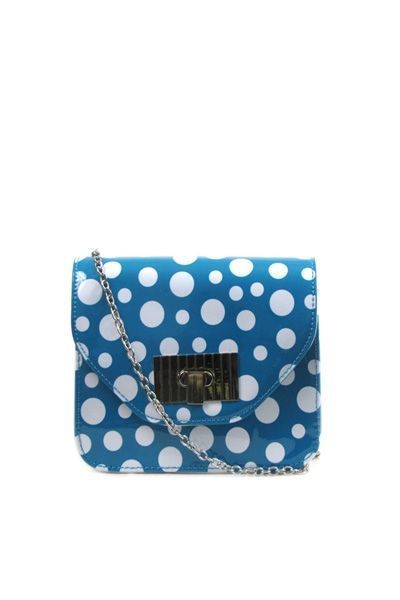 Dotted Patent Bag