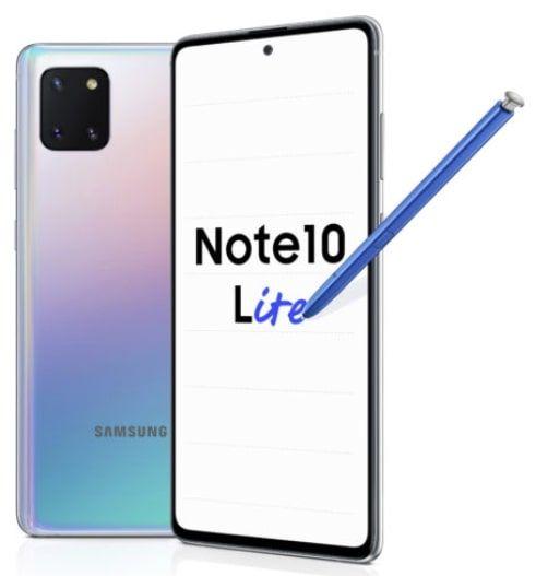 Samsung Galaxy Note 10 Lite Mit Vertrag Stand August 2020 In 2020 Galaxis Handyvertrag Galaxy Note