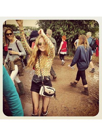 Glastonbury 2014 festival looks #wefashion