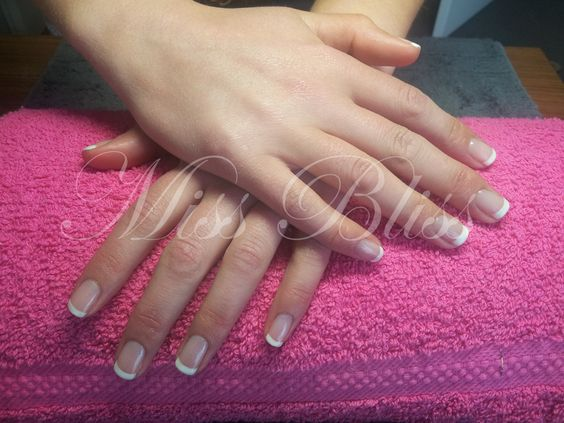 Entity's Posh in Pink and Spotlight for a Bride's nails by Miss Bliss
