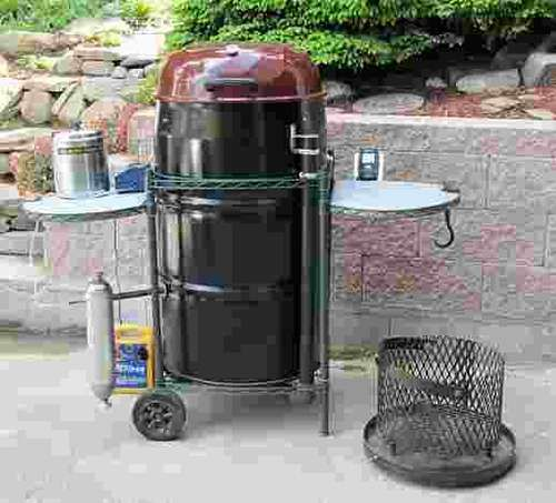 ultimate ugly drum smoker bbq smoker pinterest the o 39 jays the property and drums. Black Bedroom Furniture Sets. Home Design Ideas