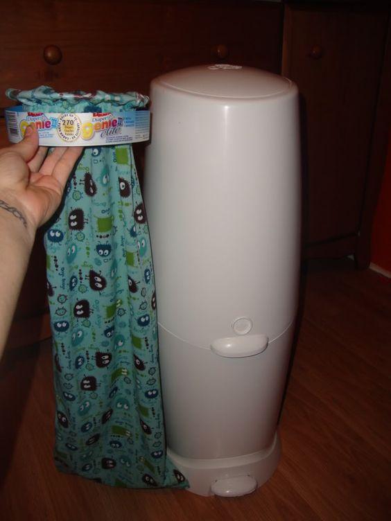 diaper genie ii elite for cloth diapers