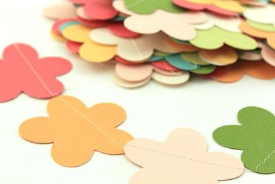 Spring Blossom Garland created by Pebbles in my Pocket with AC Cardstock