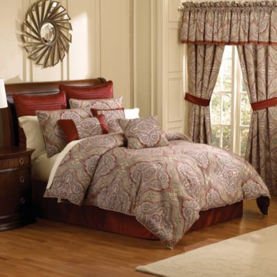 Marano 4-Piece Comforter Set - BedBathandBeyond.com Clearance Queen ...