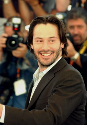 "Keanu Reeves, Actor: The Matrix. Keanu Reeves, whose first name means ""cool breeze over the mountains"" in Hawaiian, was born in Beirut, Lebanon in 1964, the son of English-born Patricia Taylor, a showgirl, and American-born Samuel Nowlin Reeves, a geologist. Keanu's father was born in Hawaii, of British, Portuguese, Native Hawaiian, and Chinese ancestry. After their marriage dissolved, Keanu moved with his mother and younger ..."