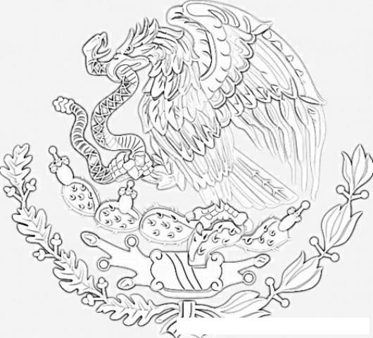Escudo De La Bandera Nacional De Mexico Para Colorear Buscar Con Google Escudo De Mexico Bandera Nacional De Mexico Escudo Nacional De Mexico