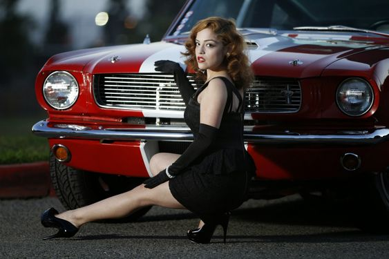 mustang pin up - photo #33