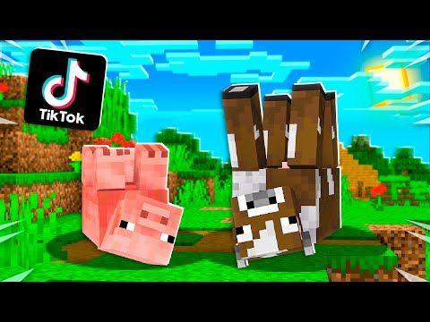 Viral Tiktok Minecraft Hacks That Actually Work Youtube Minecraft Tips Creating Games Minecraft