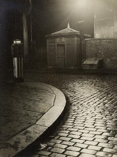 PONT LEVANT DE LA RUE DE CRIMÉE, VU DU QUAI DE L'OISE--Nicolas Yantchevsky dit Nicolas Norman 1924 - 1972