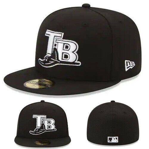 New Era 59Fifty Cap MLB BLACK Tampa Bay Rays