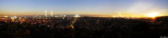 Puesta del sol en Barcelona by Cristiano Denanni on 500px