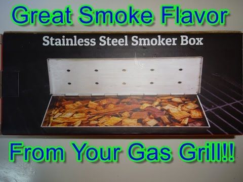 Cave Tools Stainless Smoker Box Ideal For A Smoky Flavor From Your Gas Grill - YouTube  Get the Cave Tools Smoker Box at 20% off here: http://cavetools.com/socialwbpromo