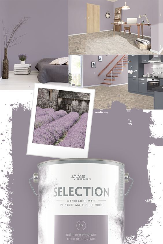 Wandfarbe Stylecolor Selection Blute Der Provence 2 5 L Mit