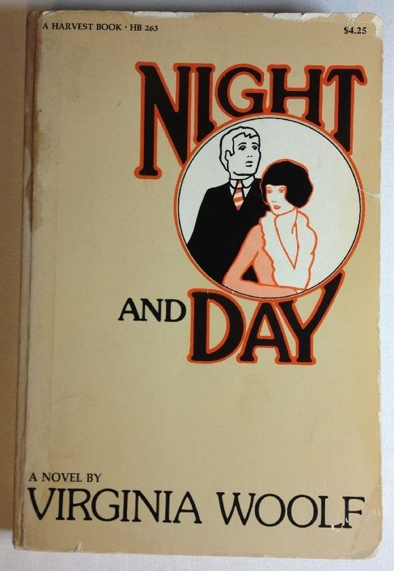 Night and Day by Virginia Woolf (1973, Paperback, Reprint) Harvest Book: