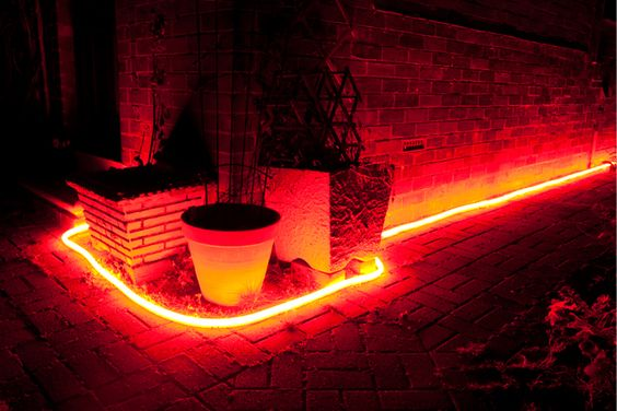 LED Light Rope garden path lighting Halloween/bonfire night party  Bonfire party  Pinterest