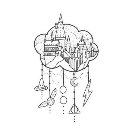 28 Ideen Tusche Tattoo Harry Potter Zeichnen Harry Ideen Potter Tattoo Tusche Zeichnen Zeichnungen Harry Potter Tattoos Harry Potter Schloss Zeichnung