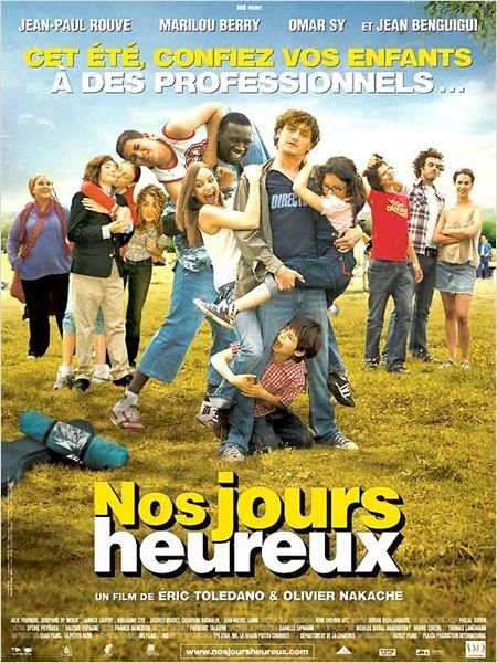 Nos jours heureux / Eric Toledano and Olivier Nakache, 2006 (with Jean-Paul Rouve, Omar Sy, Marilou Berry)
