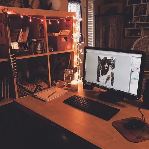 """I'll be here for the next several hours working in the @bohemiancollective mag. I have a big glass of water, my @morphologicallynyc candle burning, pandora on, and banjo by my side. #focus #bohocollectivemag #bohemiancollective"" Photo taken by @lauramazurek on Instagram, pinned via the InstaPin iOS App! http://www.instapinapp.com (10/07/2015)"