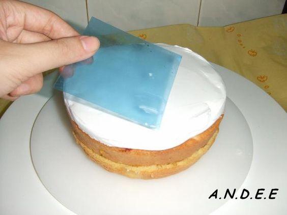 Andee - Trang trí bánh kem : Chà láng bánh