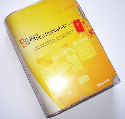 #Microsoft Publisher 2007, in Original Packaging with Product Key.  #publisher #software #microsoft    http://ultimatesoftwaredownload.com