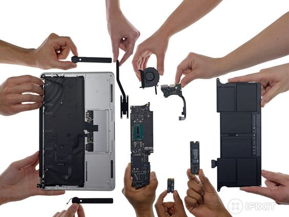 Macbook Air 11 Early 2015 Teardown Macbook Repair Macbook Air Macbook