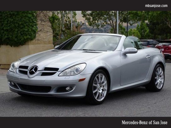 Convertible 2005 Mercedes Benz Slk 350 With 2 Door In San Jose