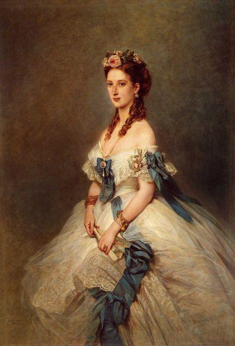 Queen Alexandra (1844-1925), when Princess of Wales / Winterhalter