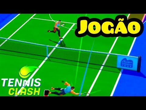 Mais Jogos E Mas Acao Disputando Quatro Jogos Seguidos E Um Deles Um Jogaco Tennis Clash Youtube Clash Jogos Youtube